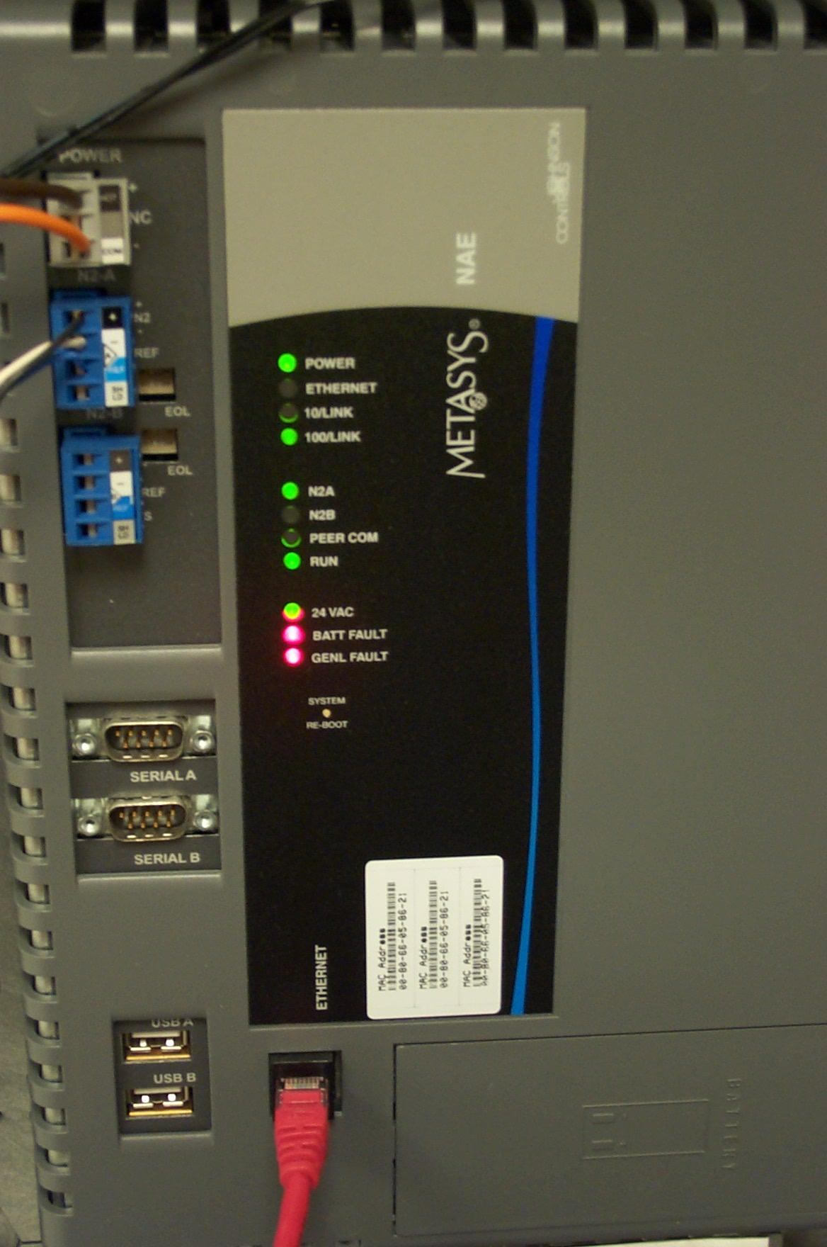 410 Metasys Basic Operator
