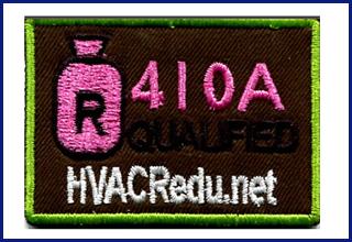 R-410A Uniform Patch